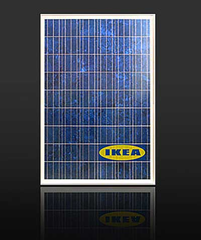 ikea will gr n werden und auch solar panels verkaufen. Black Bedroom Furniture Sets. Home Design Ideas