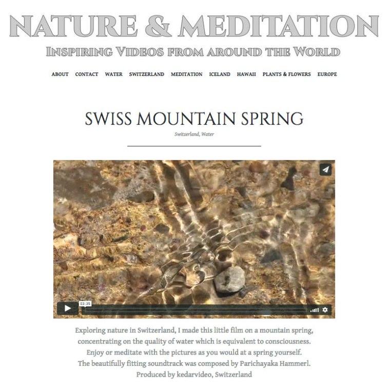 Nature&Meditation